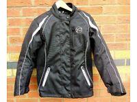 Buffalo Ladies Verona Motorcycle Jacket – Black/White –Size 12