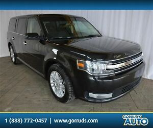 2015 Ford Flex SEL, LEATHER, BACK-UP CAMERA, REAR AIR, 4 NEW TIR