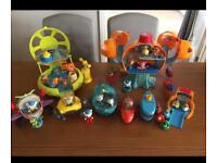 Ridiculous amounts of Octonauts sets