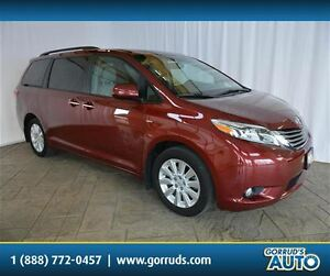 2016 Toyota Sienna XLE/AWD/HEATED SEATS/NAV/SUNROOF/PWR TAILGATE