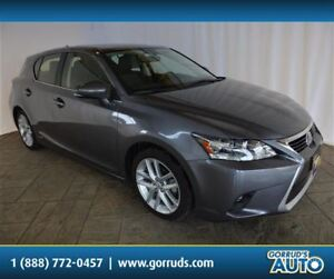 2015 Lexus CT 200h HYBRID/SUNROOF/SUNROOF/HEATED LEATHER/BLUETOO