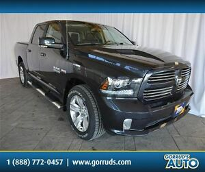 2016 Dodge Ram 1500 SPORT WITH SUNROOF, NAVIGATION, LEATHER