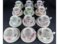Wanted - Royal Albert Flower of the month china set