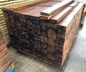 🦋 Pressure Treated Brown Wooden/ Timber Panels/ Boards/ Pieces