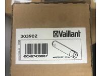 Vaillant Air/flue Duct Extension (470mm) 100 Diameter 303902