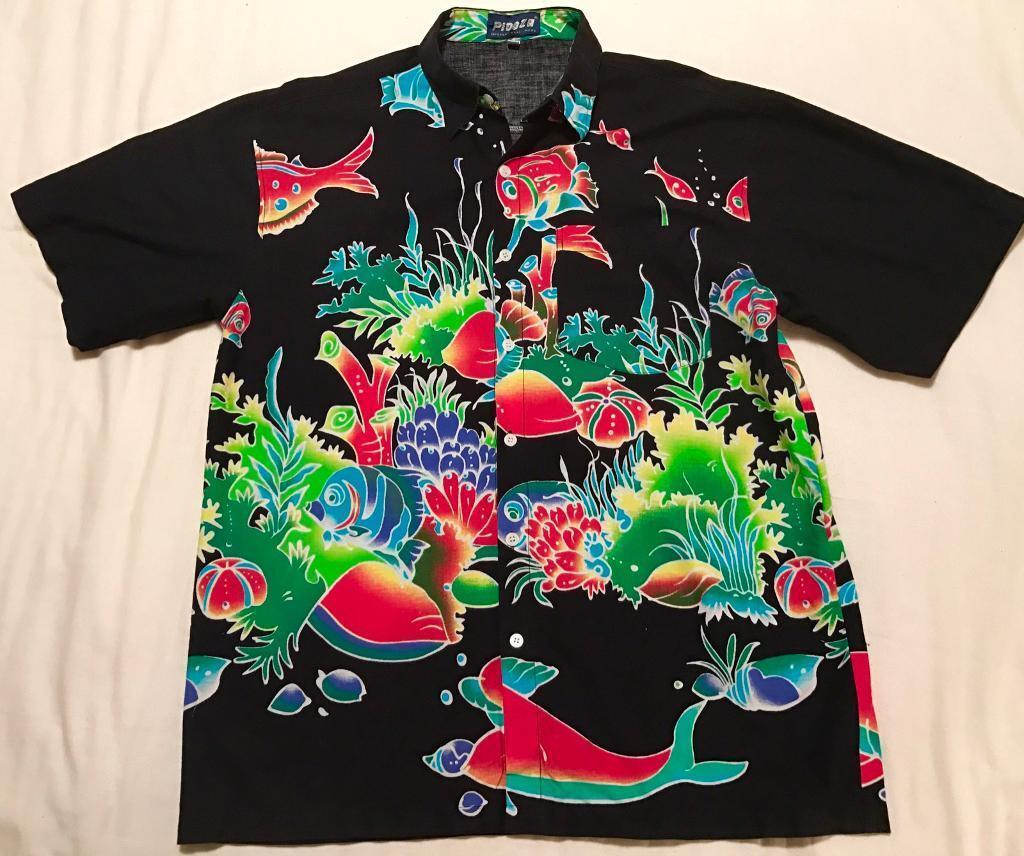 5d81f5fbd4a Hawaiian shirt men s XL
