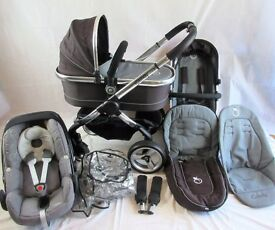 iCandy Peach Full Travel System With Maxi Cosi Pebble + Many Extra's Worth ££££ ****