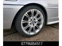 18 Inch Bmw Mv2 Type Alloy Wheels & Tyres - e36 e46 1 series e90 -