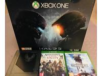 Halo 5 Guardians Limited Edition 1TB Xbox One Console in Original Box