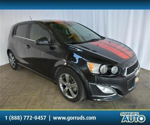 2015 Chevrolet Sonic RS/HATCHBACK/LEATHER/CAMERA/BLUETOOTH/SUNRO