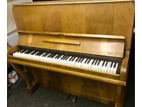 King upright piano