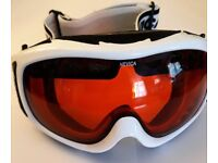 Gammer Ski Goggles by Nevica in White with Orange Lens - Cat 2 Sun Protection - UV400 - Boxed