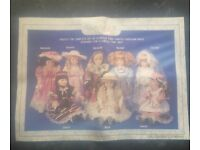 The Classique Collection of porcelain dolls