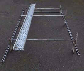 Van Roof Rack - Ford Transit High Roof HR LWB (maybe MWB SWB MR). Ladder roller.