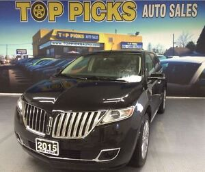 2015 Lincoln MKX AWD, LEATHER, PANORAMIC SUNROOF, NAVIGATION. 20