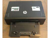 HP 230W Advanced Docking Station for EliteBooks and ProBooks w/dual DisplayPort, dual DVI, VGA, NIC