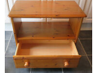 Solid Pine Table / TV unit