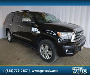 2008 Toyota Sequoia LIMITED/4 NEW TIRES/LEATHER/NAV/SUN ROOF/CAM
