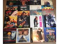 Laserdisc 20 Film Bundle #1