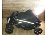 Double pram/pushchair for sale. Graco quattro tour duo. Used, Very good condition