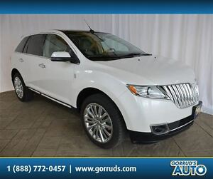 2013 Lincoln MKX AWD LEATHER HEATED SEATS BACKUP CAMERA BLUETOOT