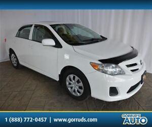 2013 Toyota Corolla CE/ENHANCED PKG/HEATED SEATS/BLUETOOTH/SUNRO