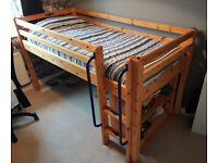 Large child's cabin bed