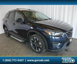 2016 Mazda CX-5 GT/AWD/NAV/SUNROOF/CAMERA/LEATHER/4 NEW TIRES
