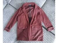 Red Topshop Jacket size 8