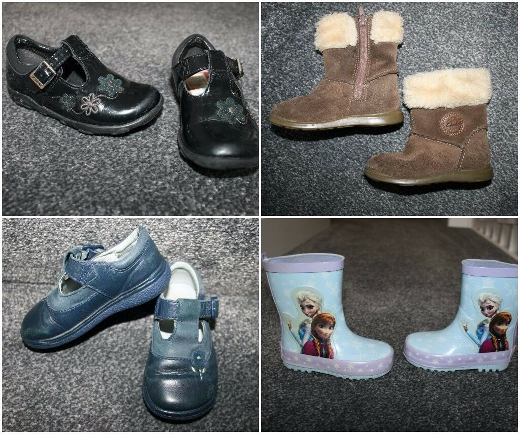 Girls shoes boots sandals size uk 5 - 6 CAN POST