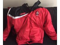 Derry GAA Coat Size Medium and Derry GAA Shorts Size Large.