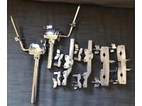 Mapex and Gibraltar clamps and tom arms