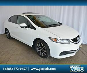 2014 Honda Civic EX/HEATED SEAT/SUNROOF/CAMERA/BLUETOOTH/NEW TIR