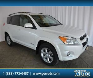 2012 Toyota RAV4 LIMITED/AWD/HEATED LEATHER/NAV/SUNROOF/CAMERA