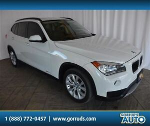2013 BMW X1 35i/XDRIVE/PANO ROOF/LEATHER/NAV/NEW TIRES