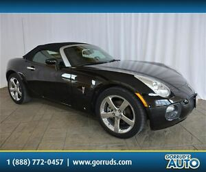 2007 Pontiac Solstice GXP/CONVERTIBLE/CHROME RIMS/LEATHER/SATELL