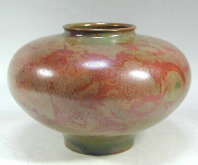 Vintage Japanese Ikebana Abstract Stoneware Planter Cup Sculpture