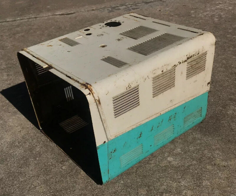 1957 ADMIRAL 14YP3B TELEVISION CASE ***FOR PARTS ONLY*** RARE!!! AS SHOWN