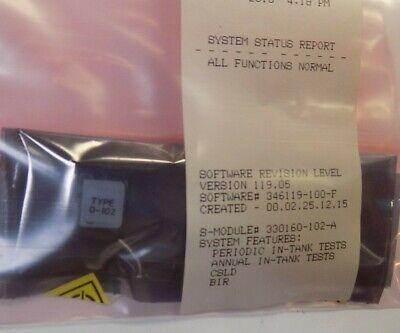 Veeder-root Tls-350 Csld Software Sem Module With Bir 330160-102 Tls-350 Plus