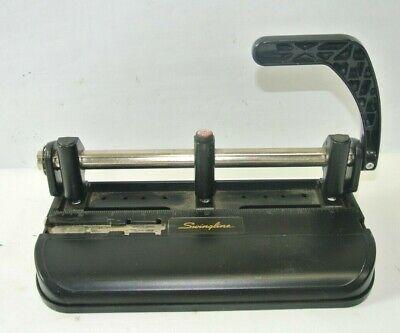 Swingline 32 Sheet Lever Handle 3 Hole Heavy Duty Punch Model 350 400
