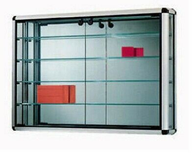 Vitrina al Mural (80xPr11xH60),vitrinas para collectionas,vitrinas de vidrio