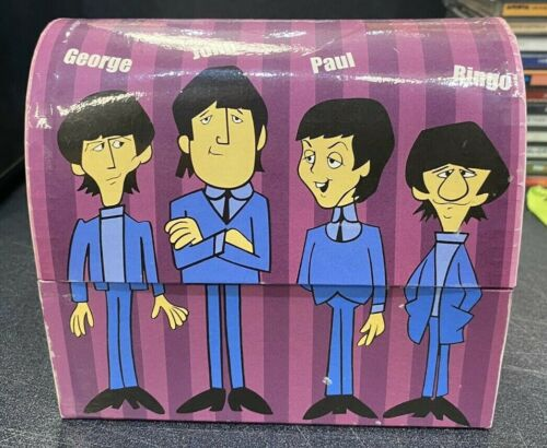 The Beatles Dome Lunchbox Salt and Pepper Shakers VINTAGE