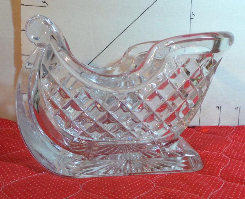 Sleigh, Glass, Avon, Christmas Decor, Crafts, Toys, Collectible