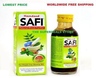Hamdard Safi 200ml Tonic Herbal Best Blood Purifier Acne pimple Vulgaris