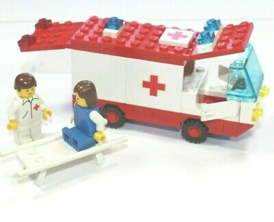 Vintage lego set Ambulance lot INCOMPLETE -headlight no box no instructions 6688