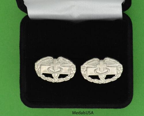 Combat Medic Badge Cuff Links -  Combat Medical Badge Cufflinks