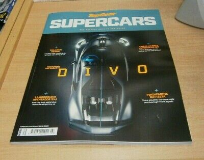 BBC Top Gear magazine Supercars 2019/2020 The Fastest Cars in the World
