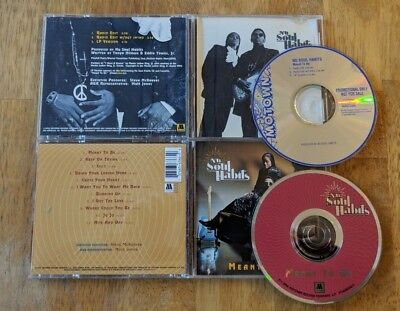 Nu Soul Habits CD Lot - Meant To Be - LP and Single! - Complete - $2 S/H!
