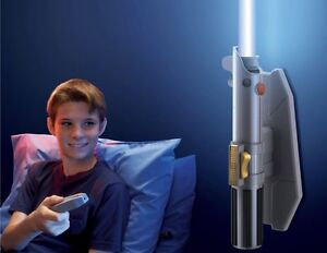 2 x  Starwars Lightsaber Night Light with Remote Control RRP$180 Darch Wanneroo Area Preview