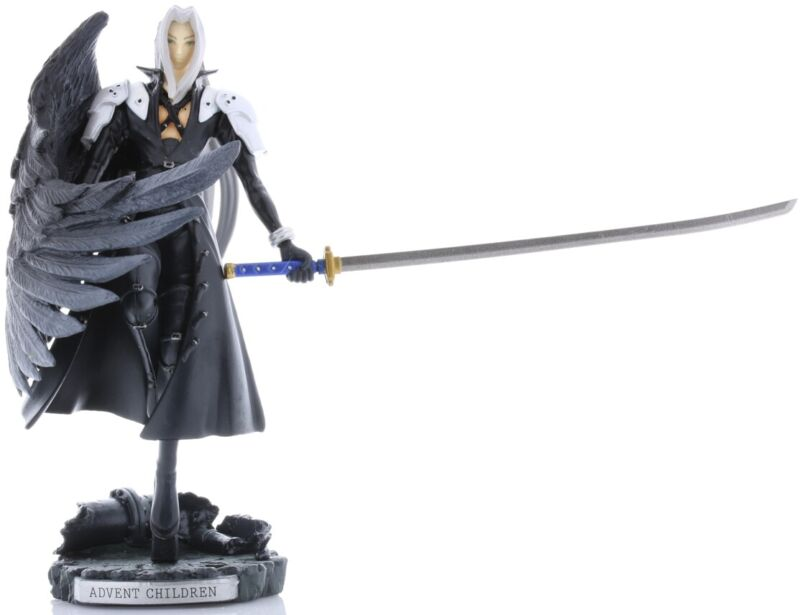 Final Fantasy 7 VII Figurine Figure Sephiroth 10th Anniversary Trading Arts Mini